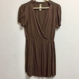 Free People Brown/Taupe Dress (M)